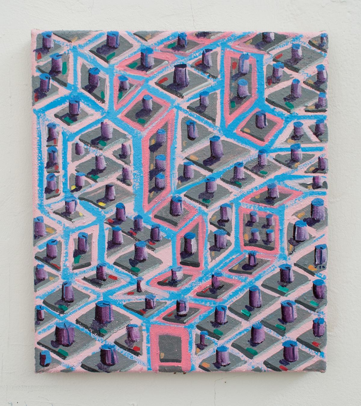 Switch Island. Michael Coppelov. Jackson's Painting Prize 2020.