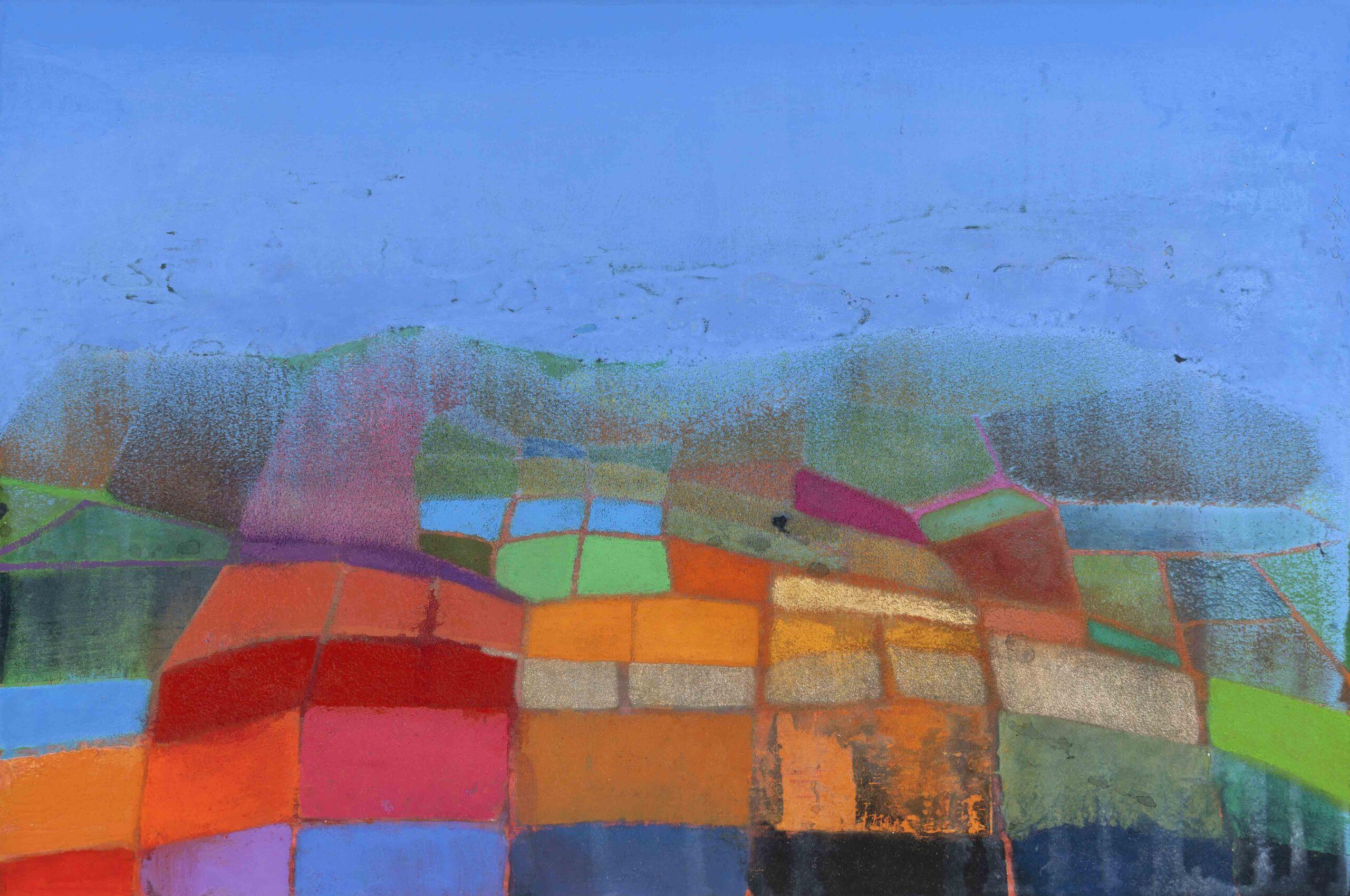 Land Bridge. Tom Climent. Jackson's Painting Prize.