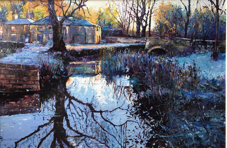 Outbuildings. Hilary Burnett Cooper. Jackson's Painting Prize.