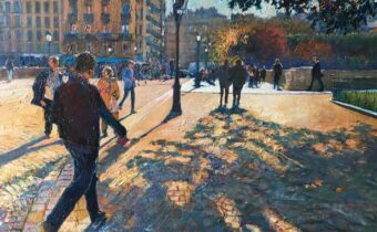 Autumn Shadows. Hilary Burnett Cooper. Jackson's Painting Prize.