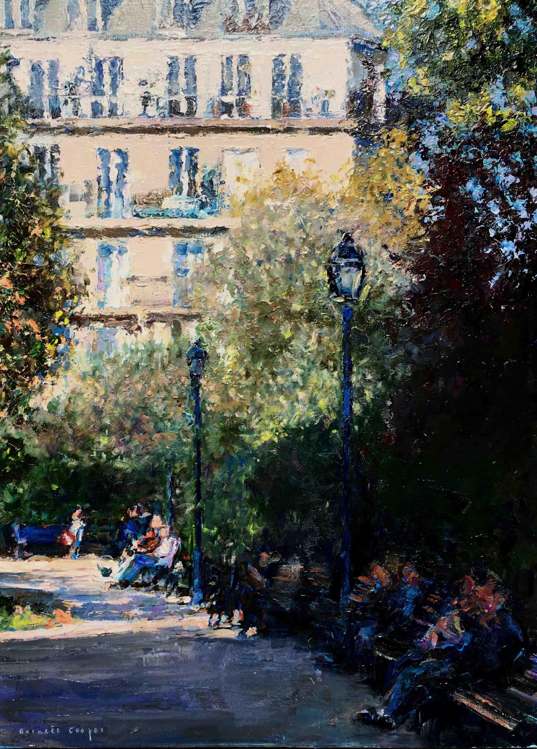 Parisian Park. Hilary Burnett Cooper. Jackson's Painting Prize.