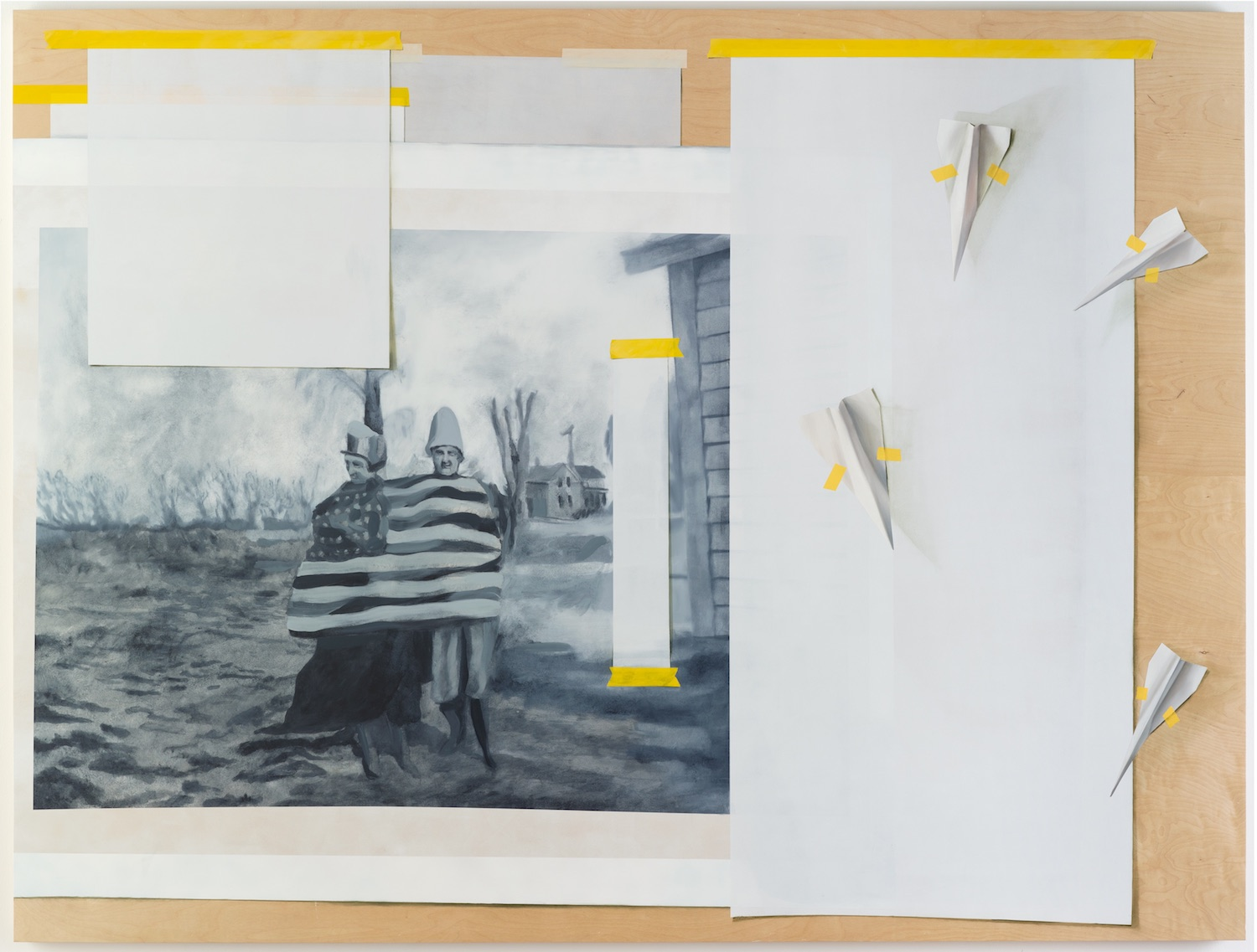 And We Give It To You, The People. Alastair Gordon. Jackson's Painting Prize.