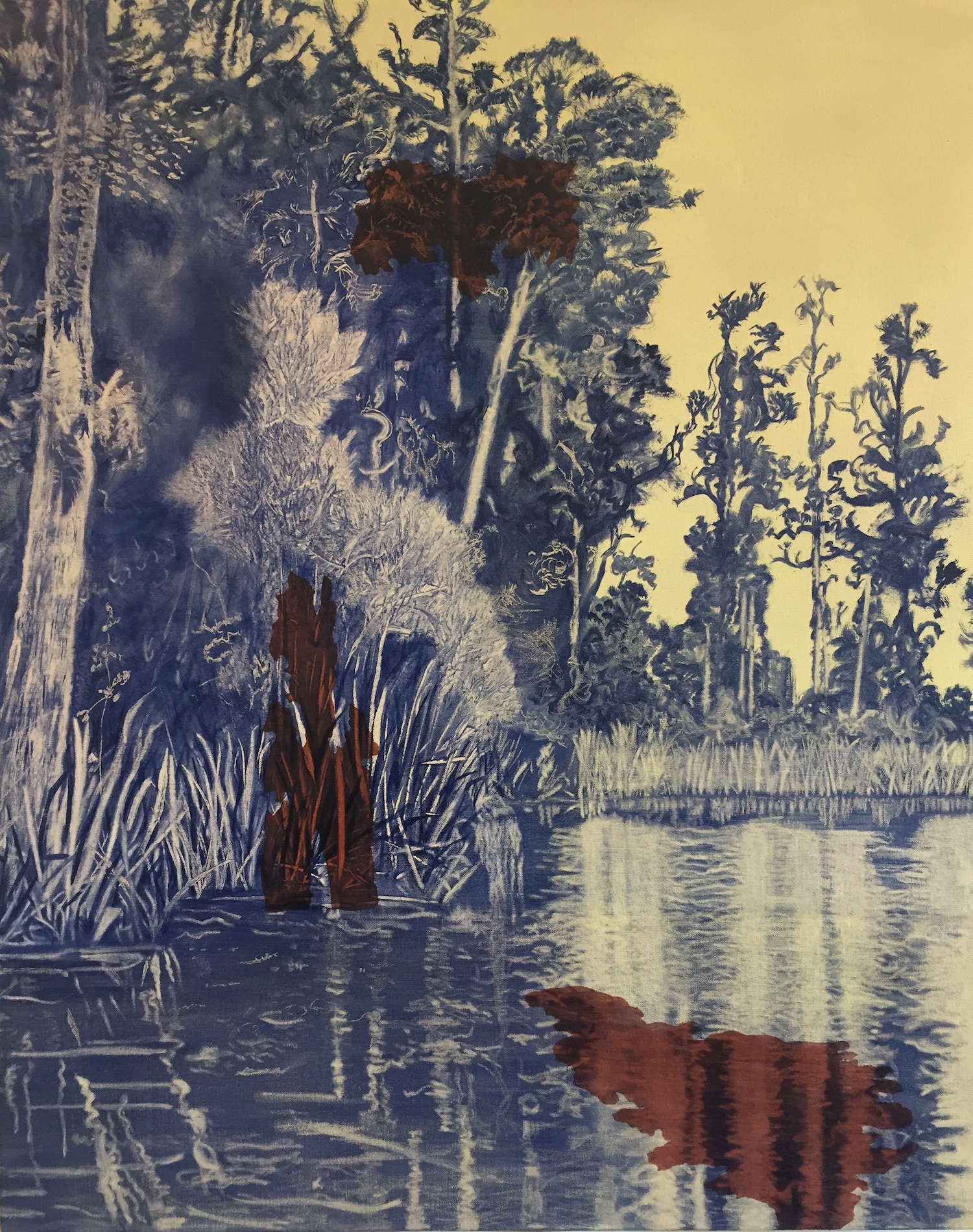 Arnold River. Robyn Litchfield. Jackson's Painting Prize.