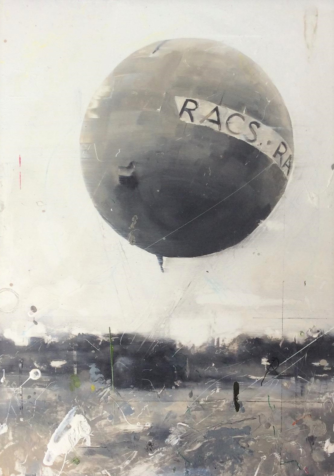 Balloon '19. Angela Bell. Jackson's Painting Prize.
