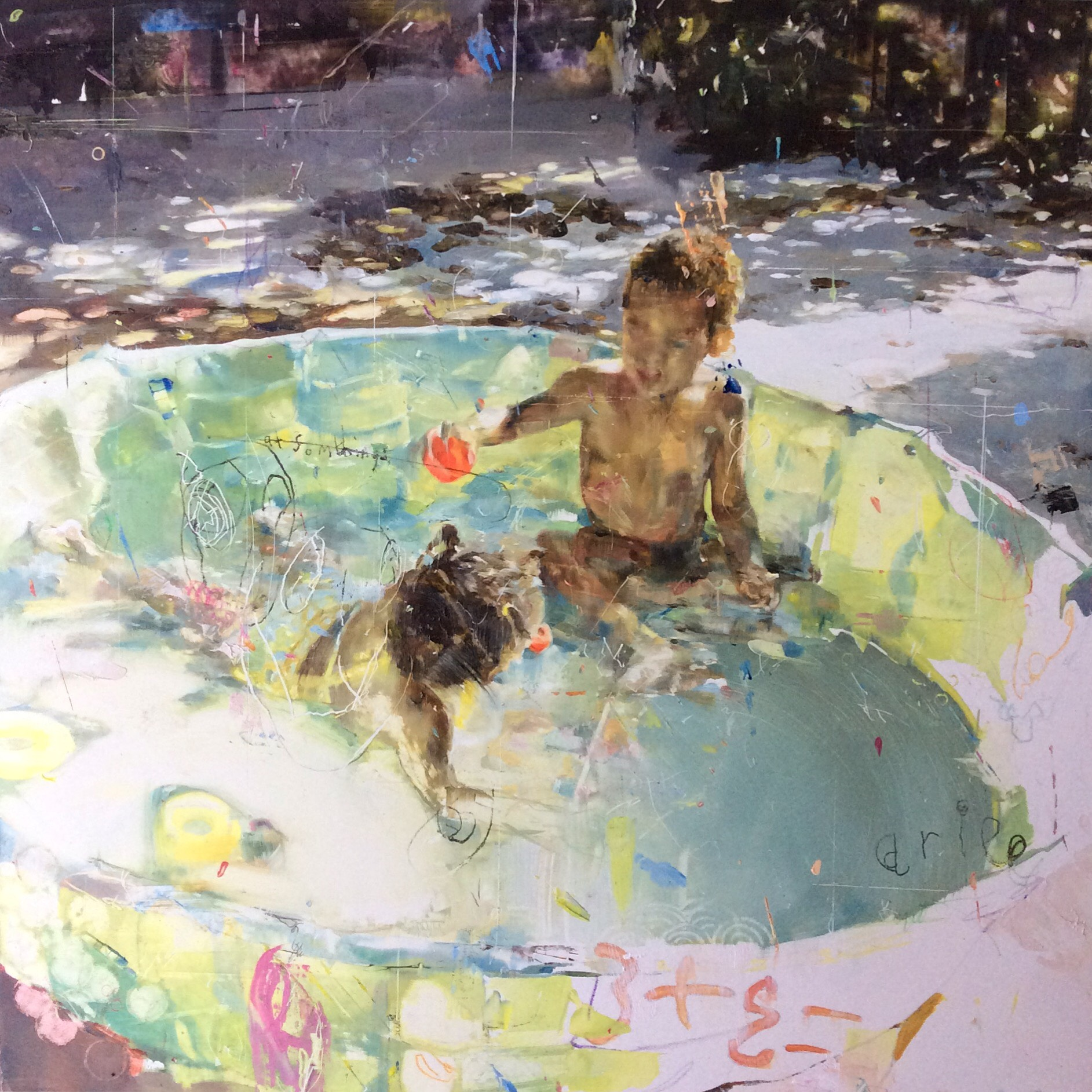 Dunk. Angela Bell. Jackson's Painting Prize.