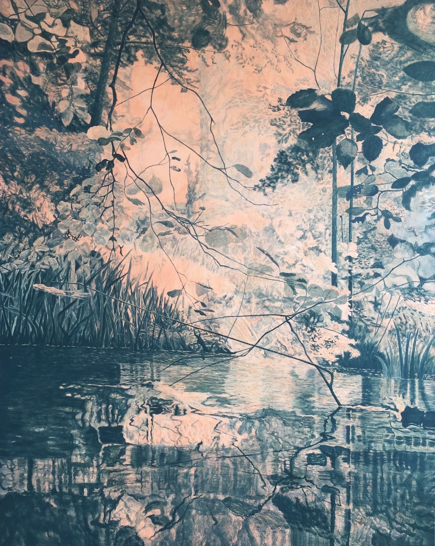 Forest Gloaming. Robyn Litchfield. Jackson's Painting Prize.