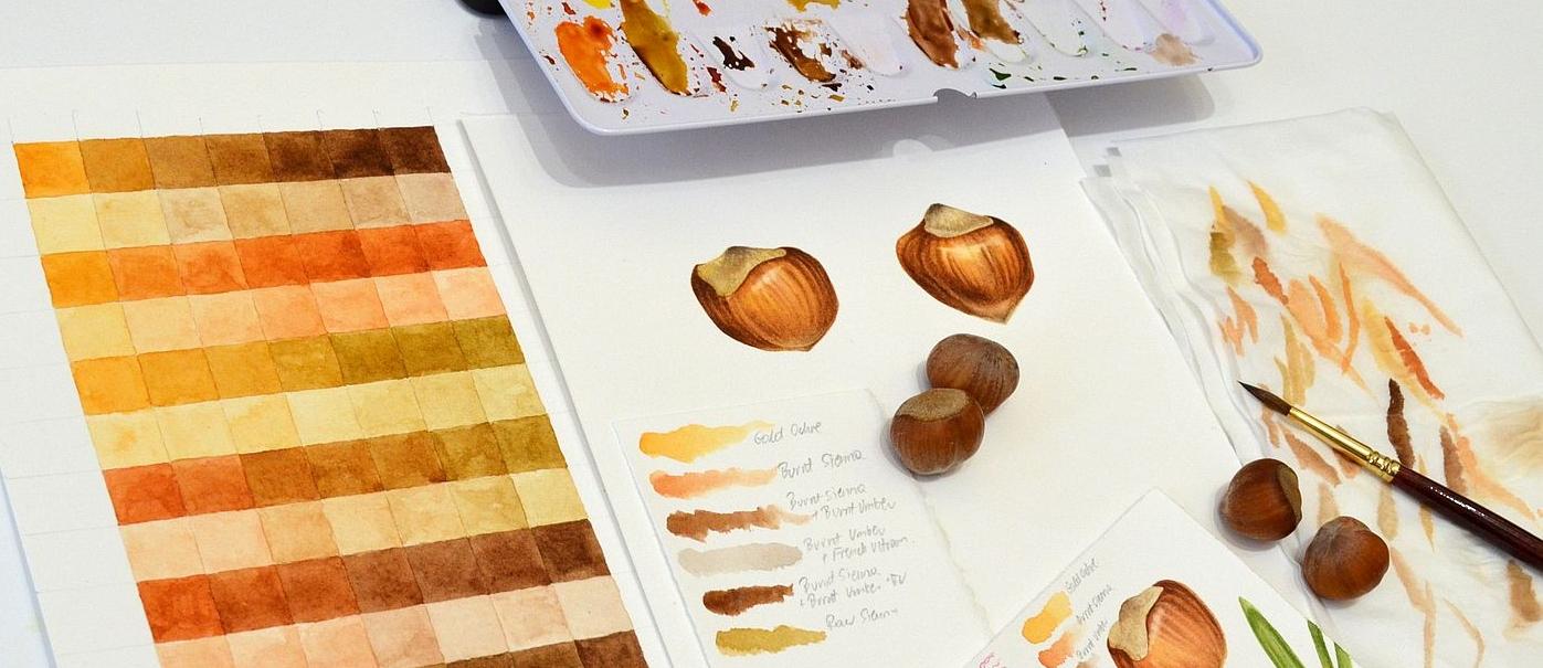 Hazelnuts. Krzysztof Kowalski. Jackson's Painting Prize.