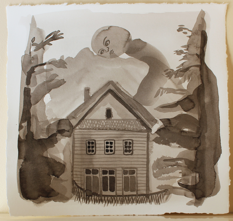 House 3. Lena Brazin. Jackson's Painting Prize.