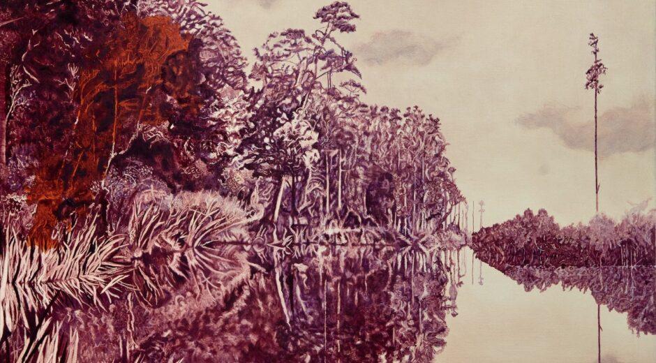 Lake Mahinapua. Robyn Litchfield. Jackson's Painting Prize.
