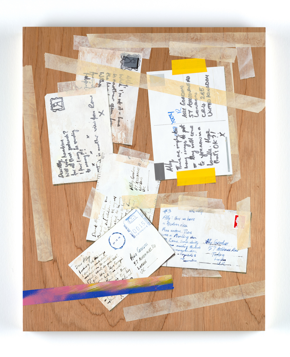Letters from a Friend I. Alastair Gordon. Jackson's Painting Prize.