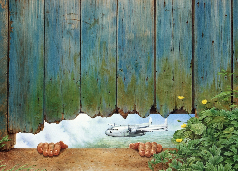 May Day. Jan Muës. Jackson's Painting Prize.