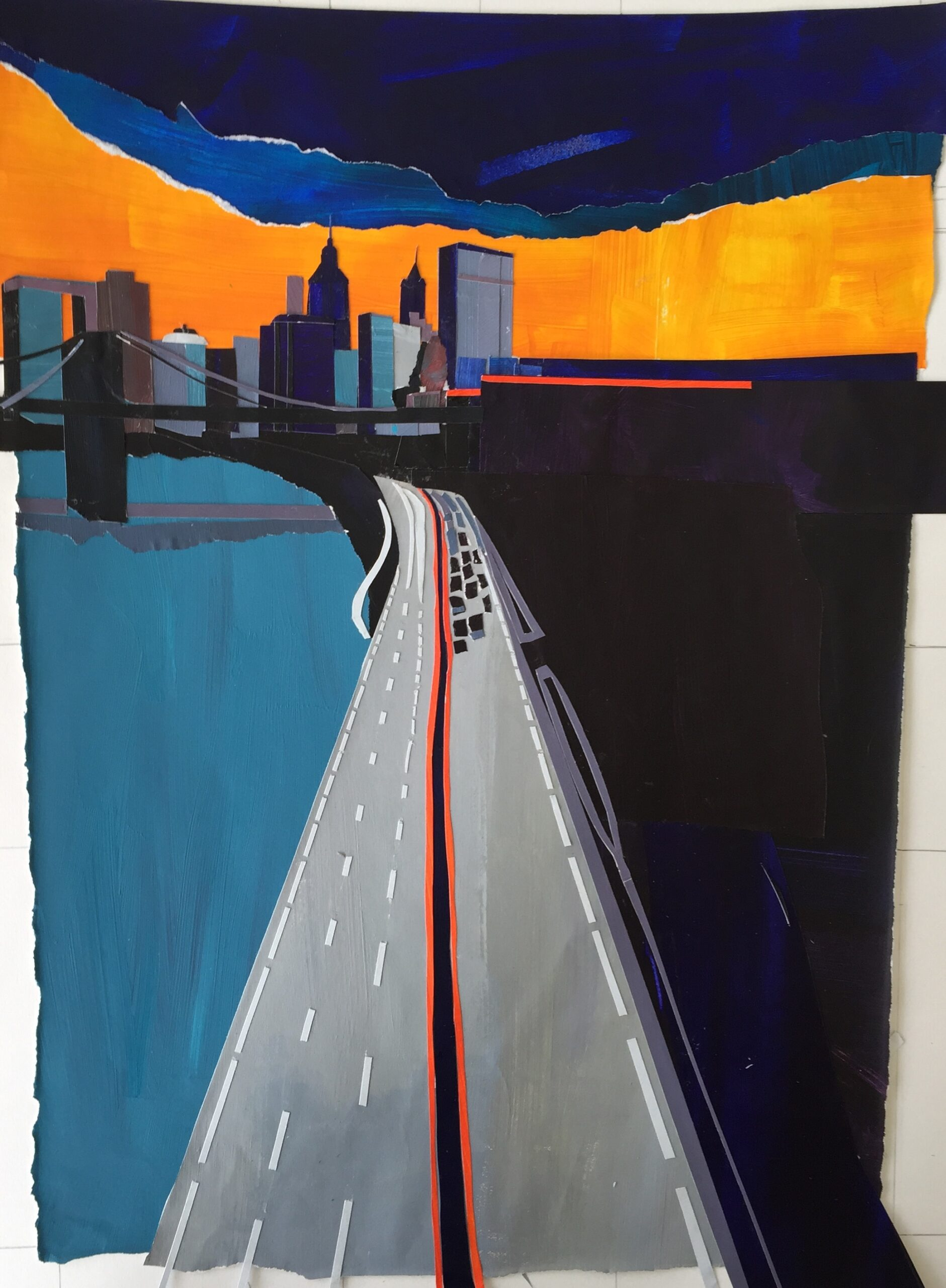 New York Skyline. Raina Goran. Jackson's Painting Prize.