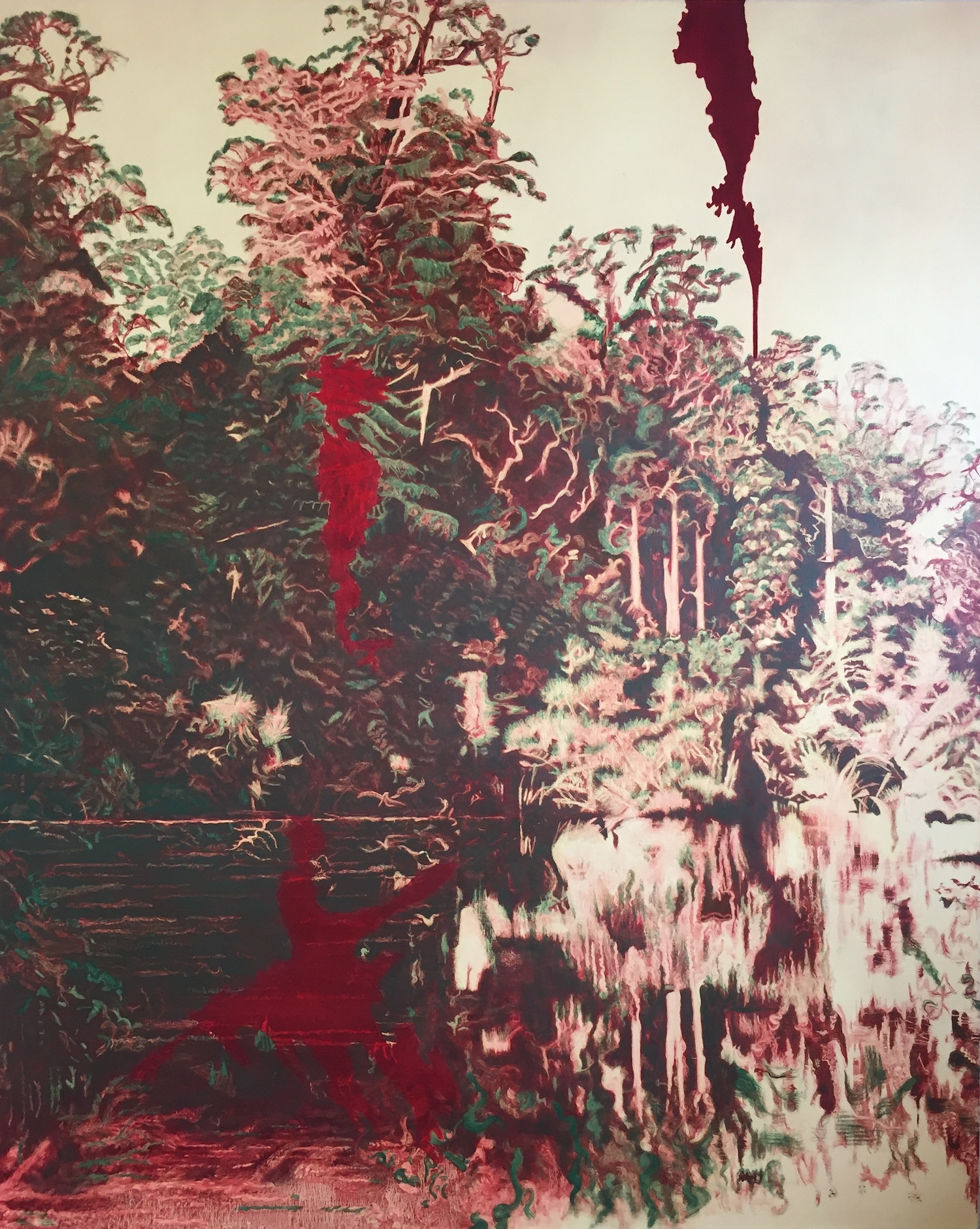 Orangipuka. Robyn Litchfield. Jackson's Painting Prize.