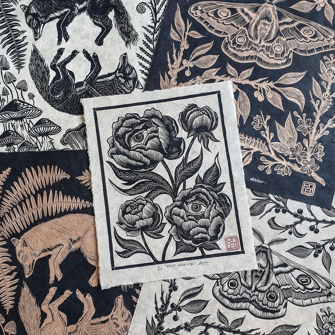 Prints by Rachel Louise Hibbs