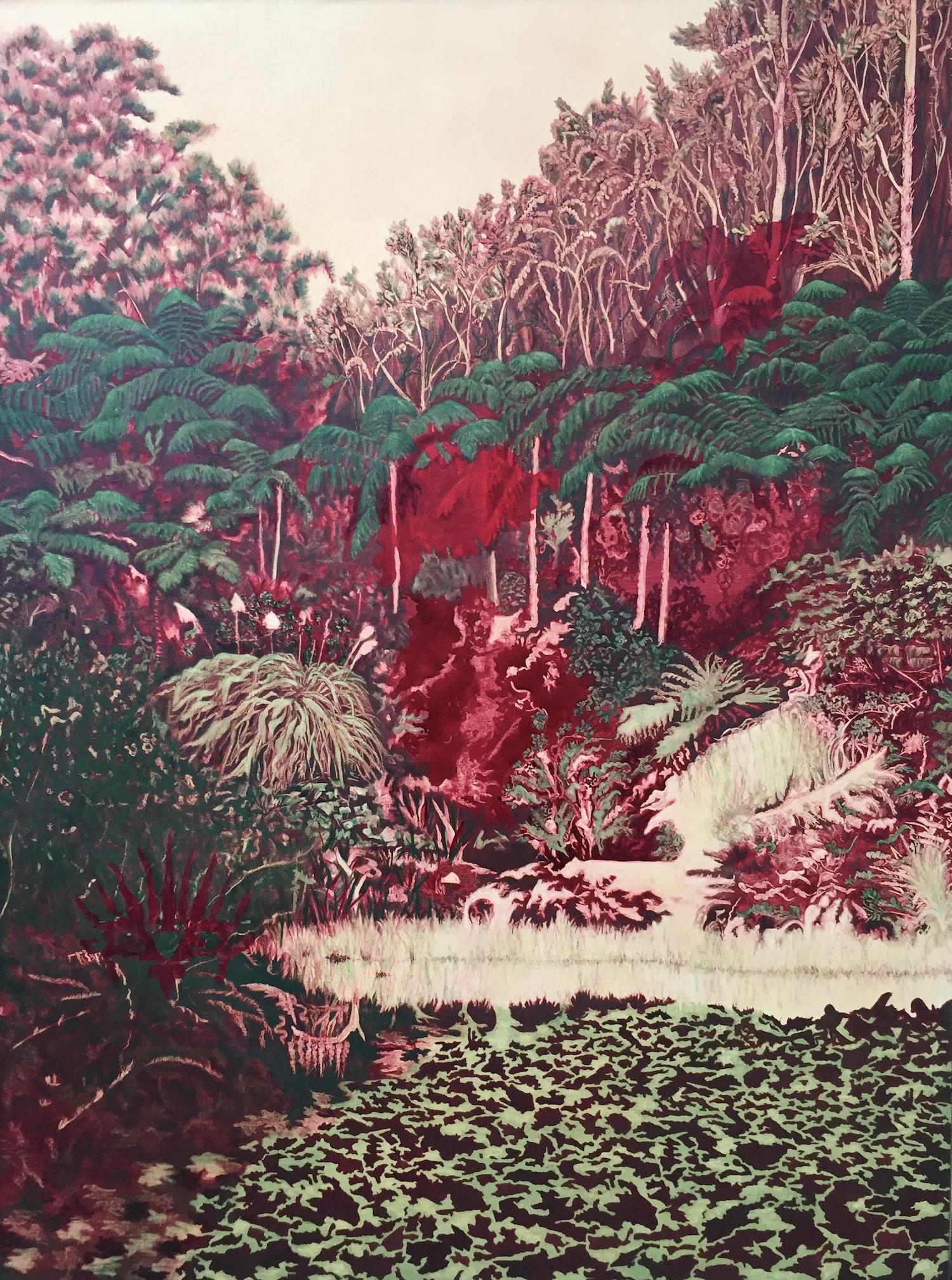 Pukekura. Robyn Litchfield. Jackson's Painting Prize.