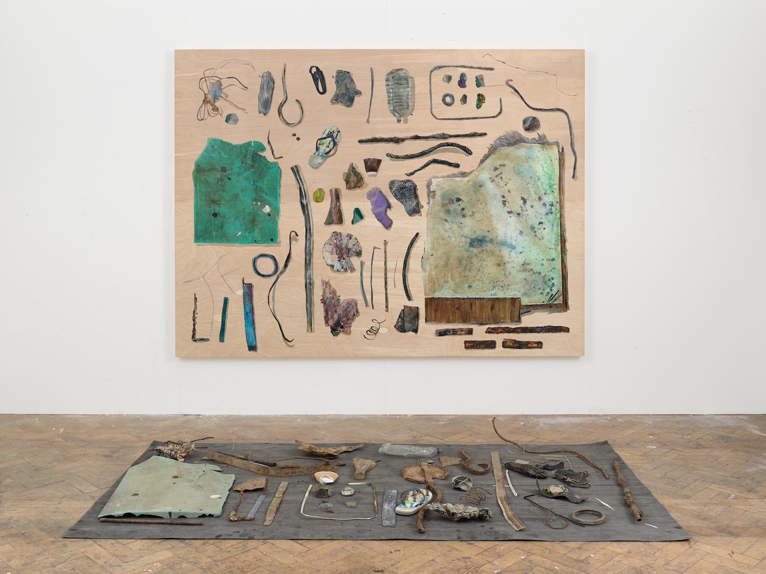River Wasteland. Alastair Gordon. Jackson's Painting Prize.