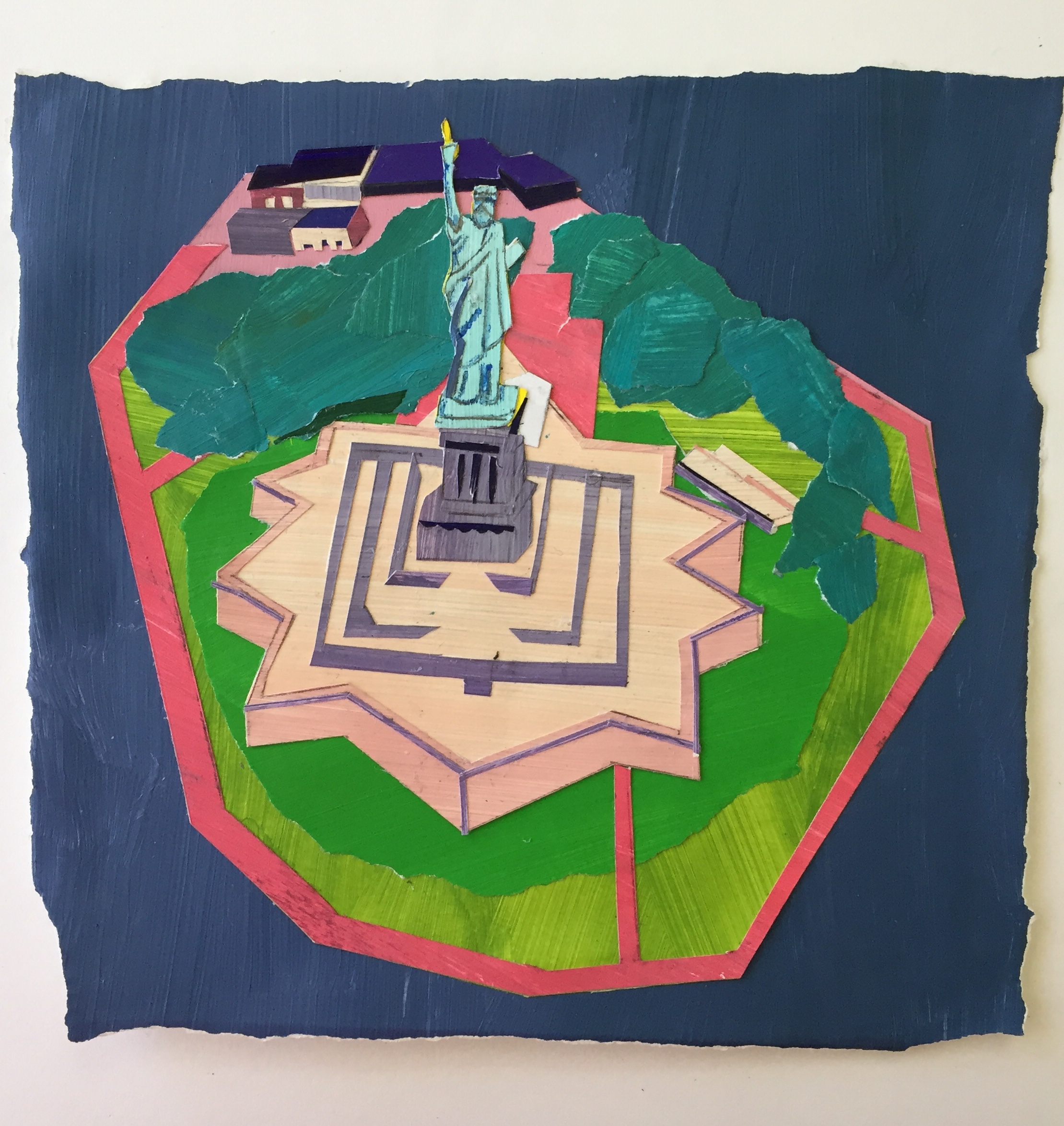 Statue of Liberty. Raina Goran. Jackson's Painting Prize.