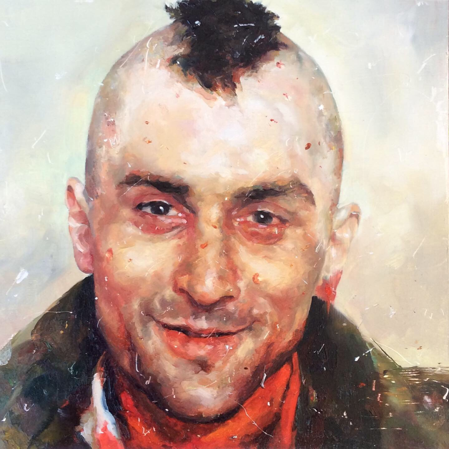 Taxi Driver. Angela Bell. Jackson's Painting Prize.