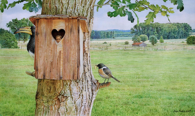 The Cuckoo's Nest. Jan Muës. Jackson's Painting Prize.