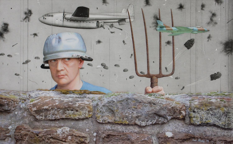 The Smokescreen. Jan Muës. Jackson's Painting Prize.