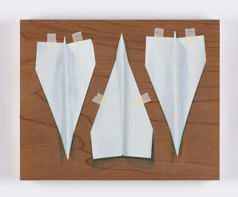 Three Paper Darts. Alastair Gordon. Jackson's Painting Prize.