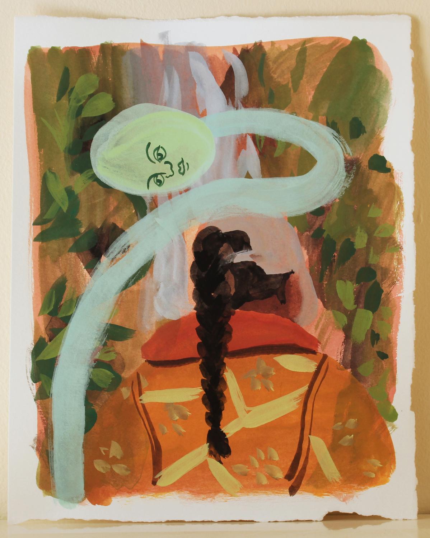 Tomb Rider. Lena Brazin. Jackson's Painting Prize.