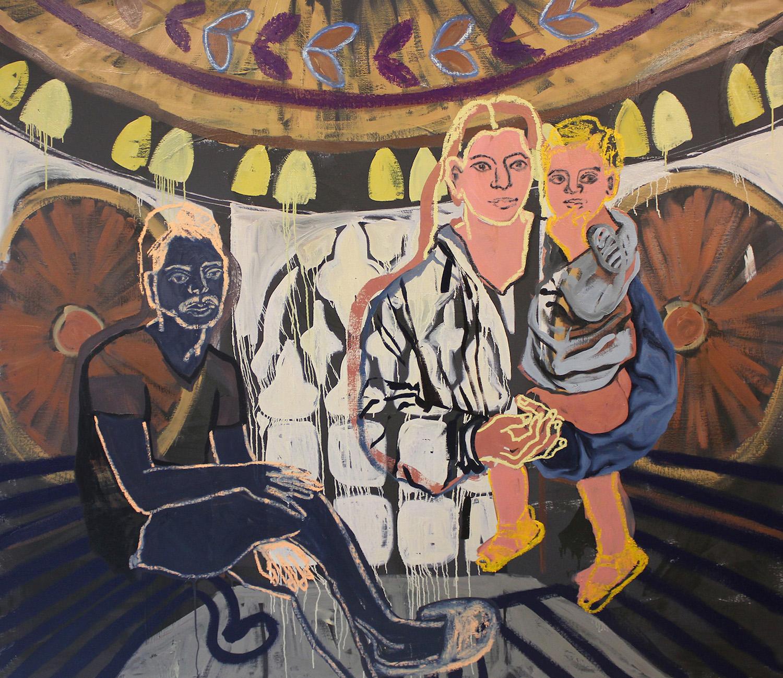 Trinity. Lena Brazin. Jackson's Painting Prize.