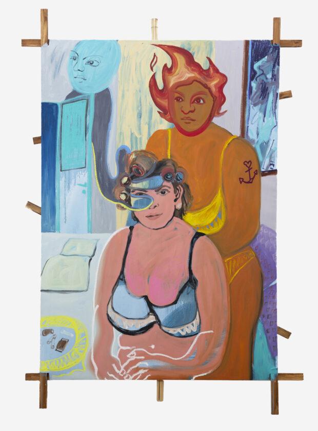 Votre Dame. Lena Brazin. Jackson's Painting Prize.