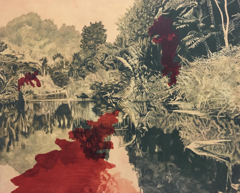 Waipu Gorge. Robyn Litchfield. Jackson's Painting Prize.