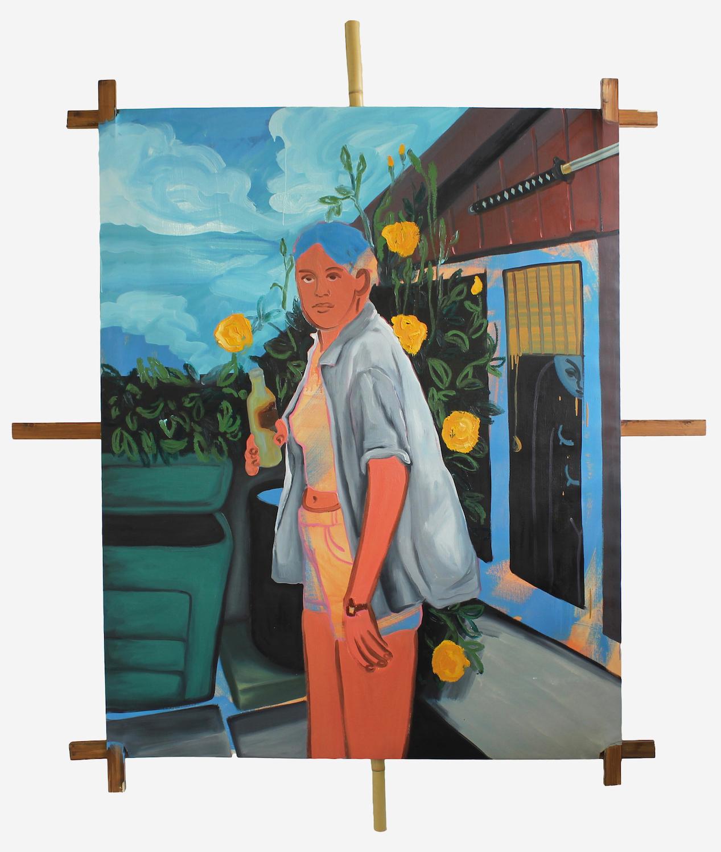 Warriors Path. Lena Brazin. Jackson's Painting Prize.