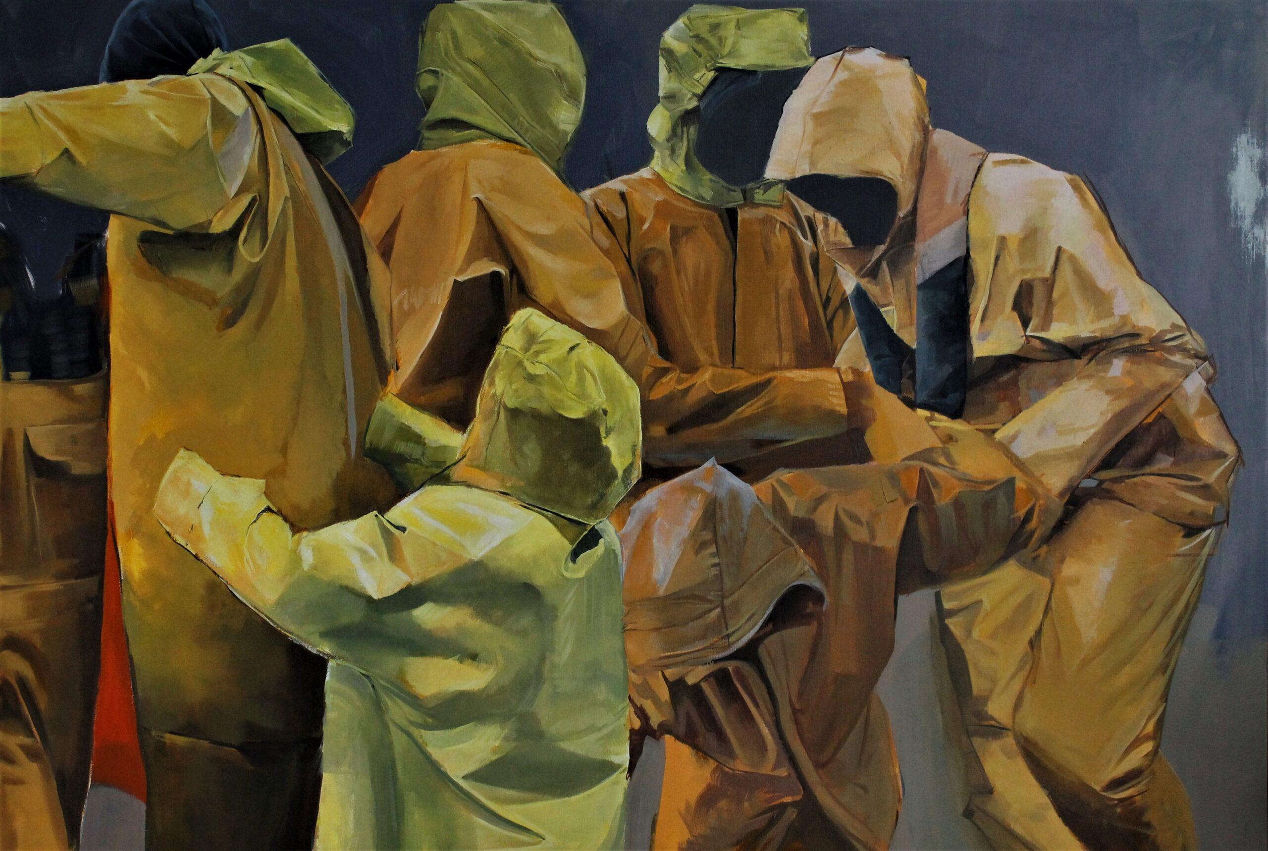 Gleaming. Boris Garanger. Jackson's Painting Prize.