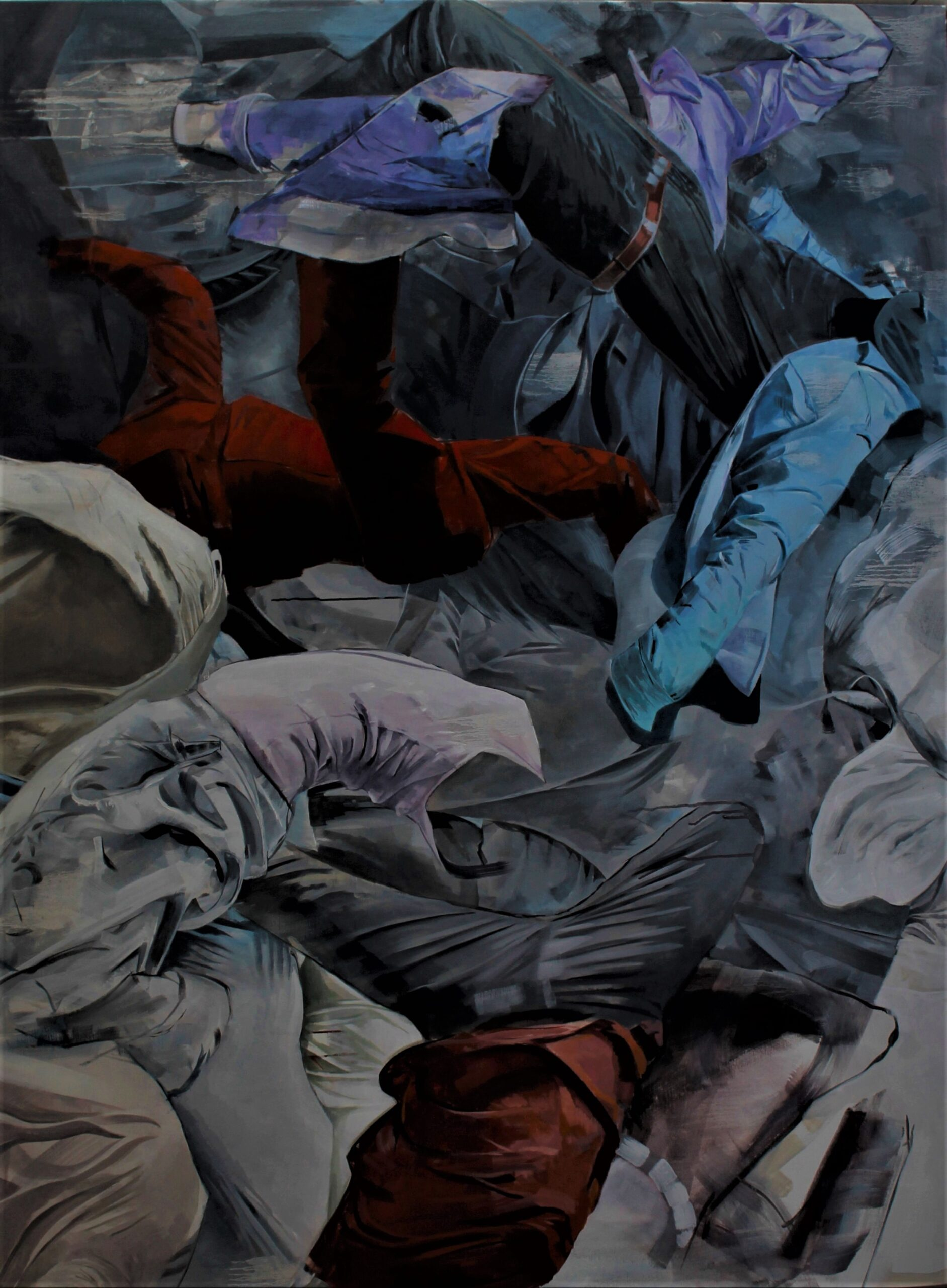 Gravityless. Boris Garanger. Jackson's Painting Prize.