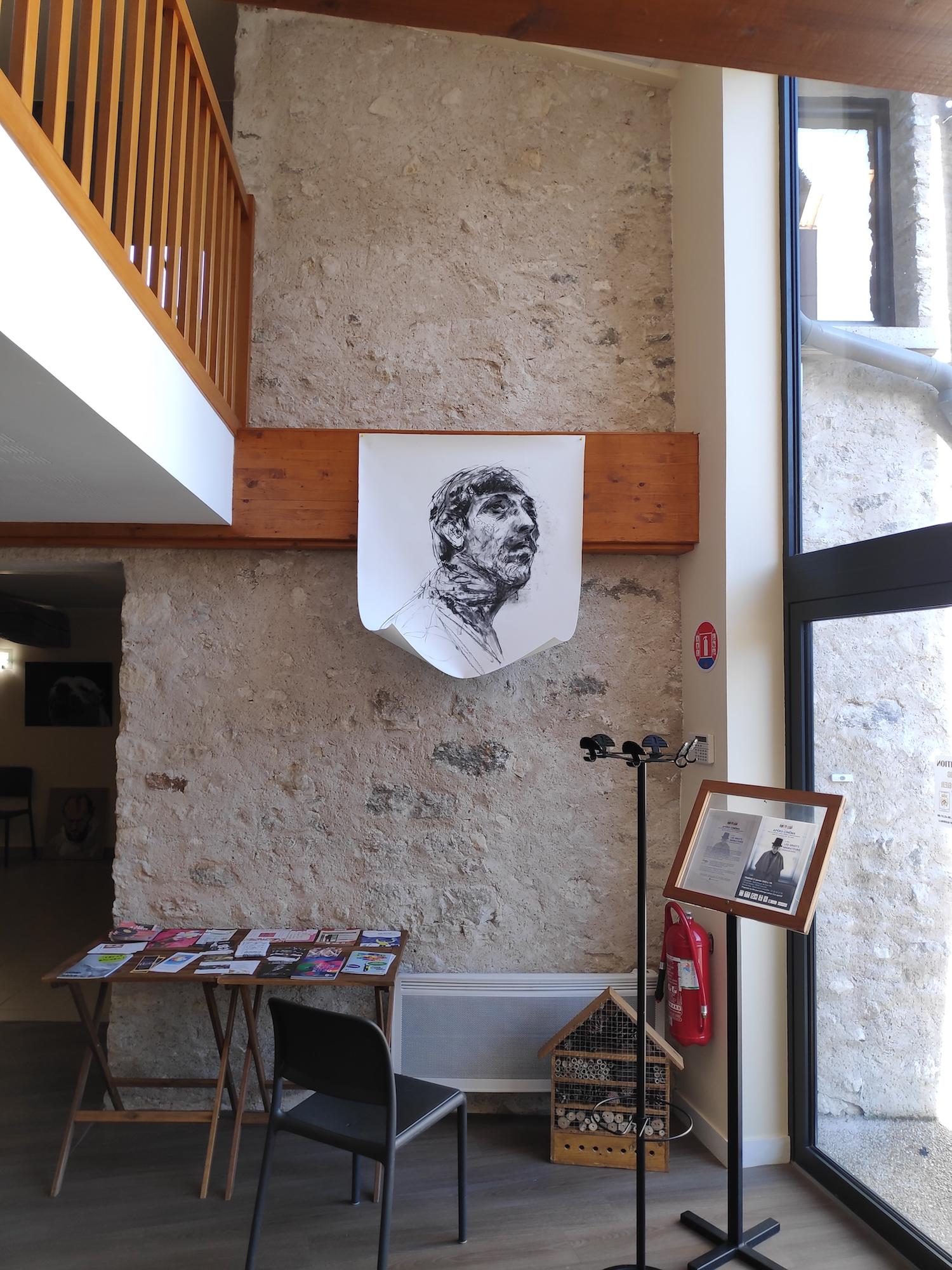 Hanging Test. Boris Garanger. Jackson's Painting Prize.