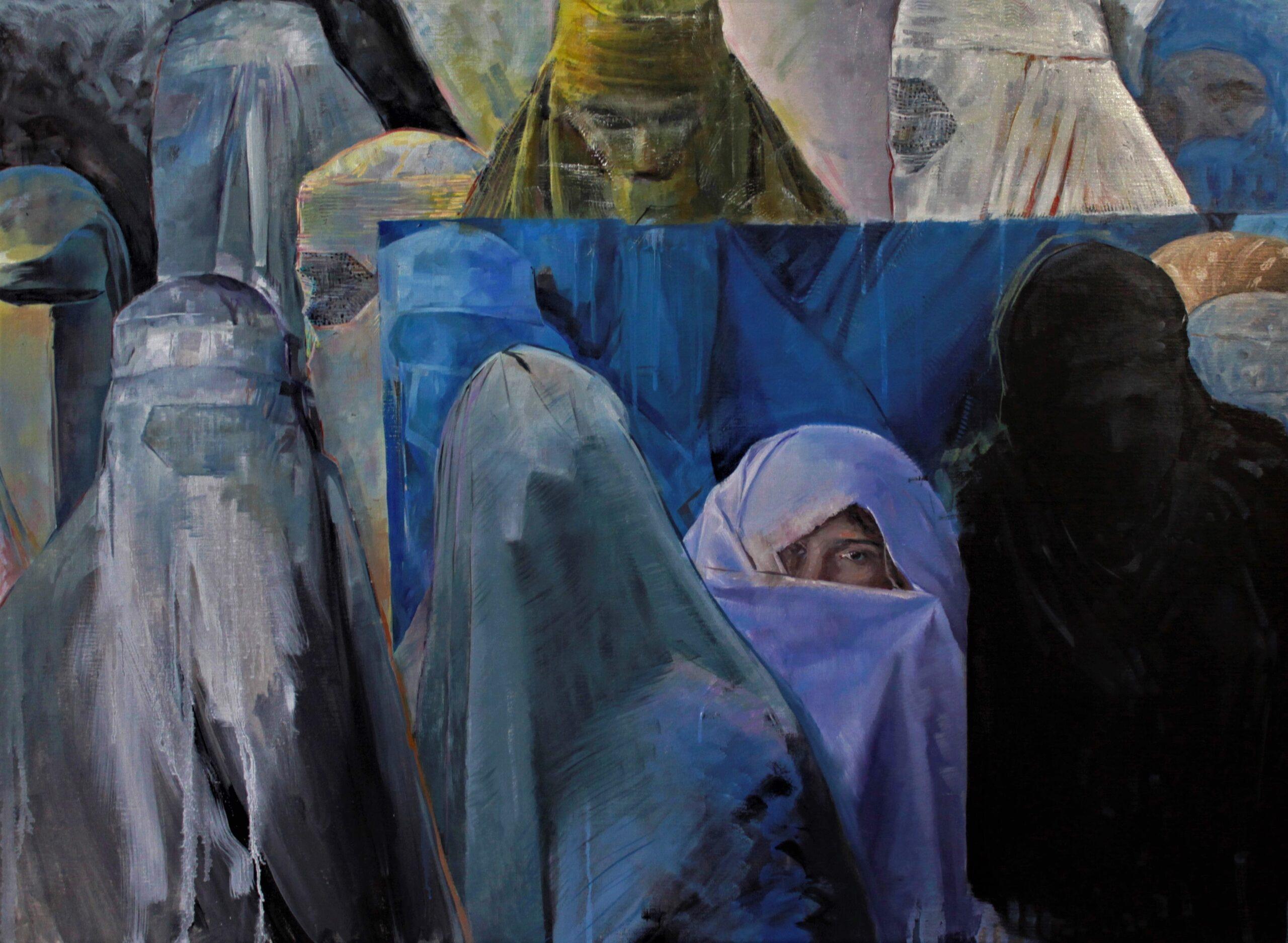Harem. Boris Garanger. Jackson's Painting Prize.