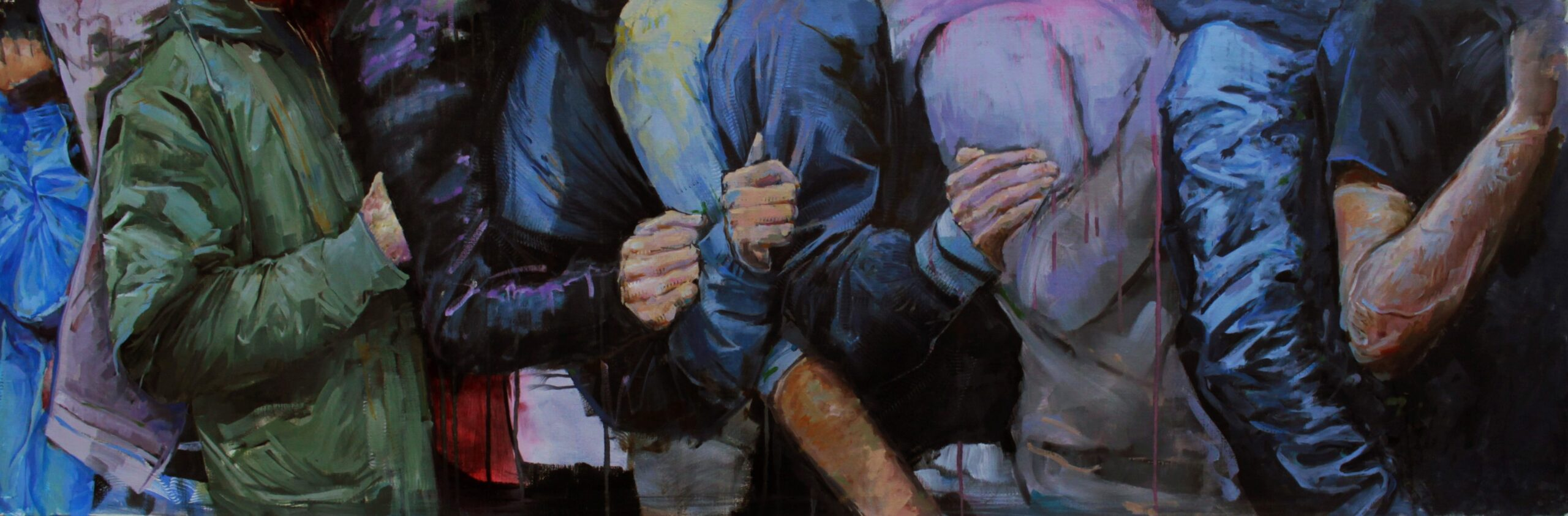 Line up #2. Boris Garanger. Jackson's Painting Prize.