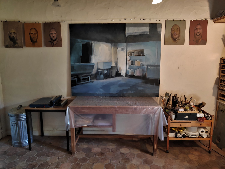 Boris's Garanger Studio. Jackson's Painting Prize.