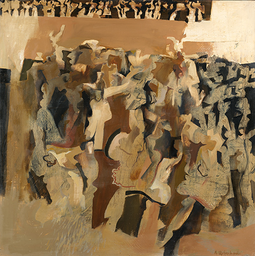 Dancers Brown 1963-4 Anthony Whishaw