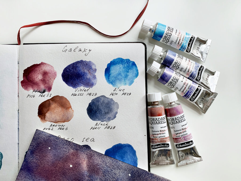 The 'Galaxy' series of super-granulating colour