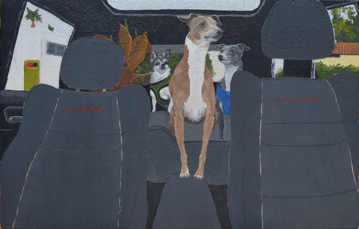 Buying My Dogs Everything They Touch. Maddy Buttling. Jackson's Painting Prize.