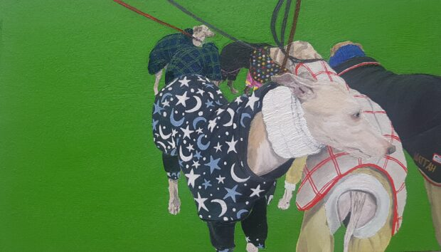 Crufts, 2019. Maddy Buttling. Jackson's Painting Prize.