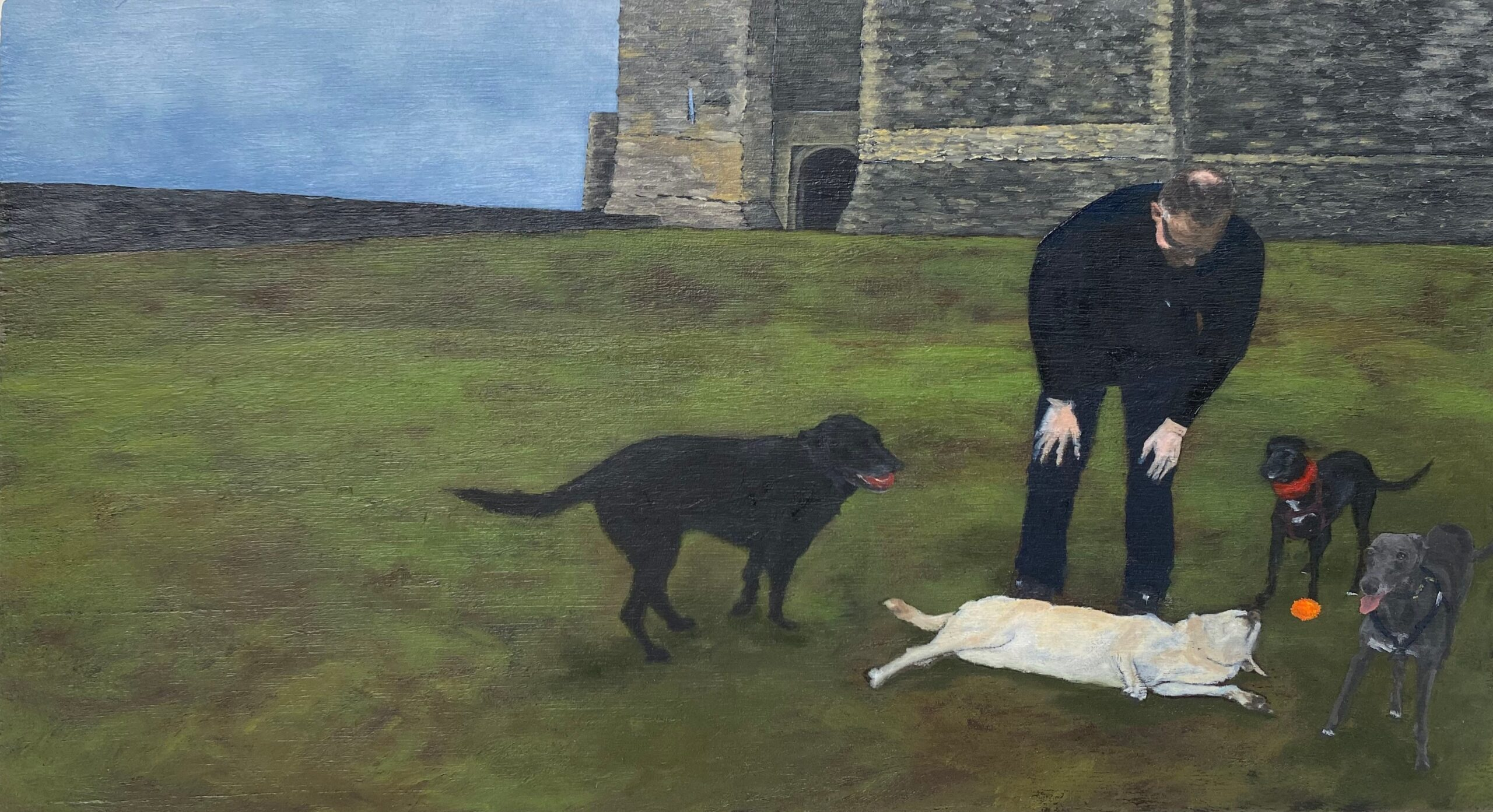Floppy Dog Syndrome. Maddy Buttling. Jackson's Painting Prize.