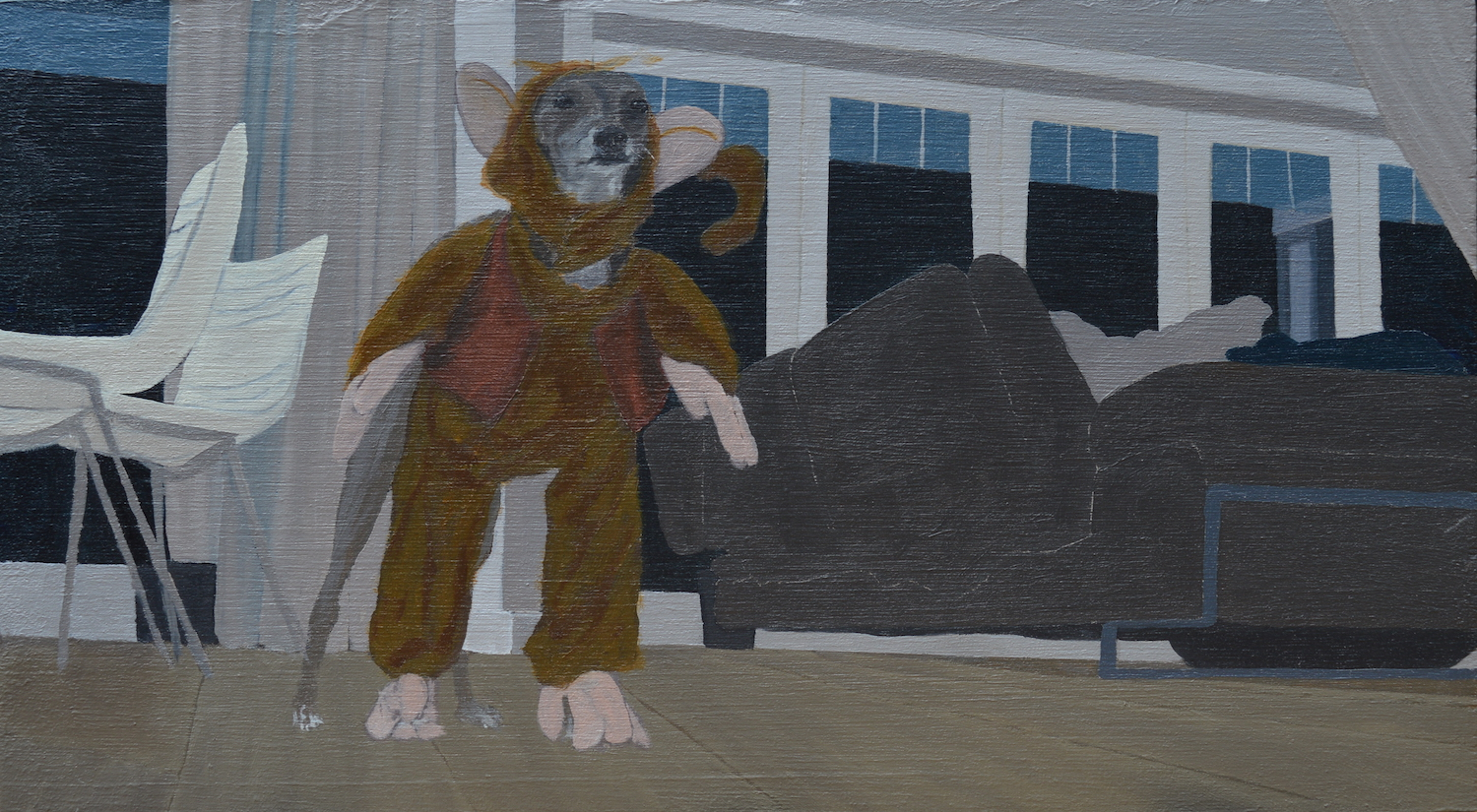 My Dogs Try On Halloween Costumes 3 #2. Maddy Buttling. Jackson's Painting Prize.