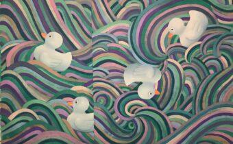 Deluge. Charles Inge. Jackson's Painting Prize.