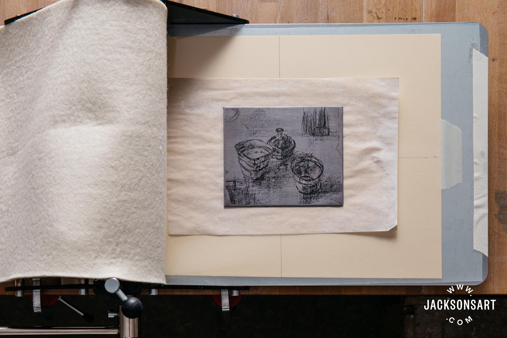 Jackson's Fome printing press