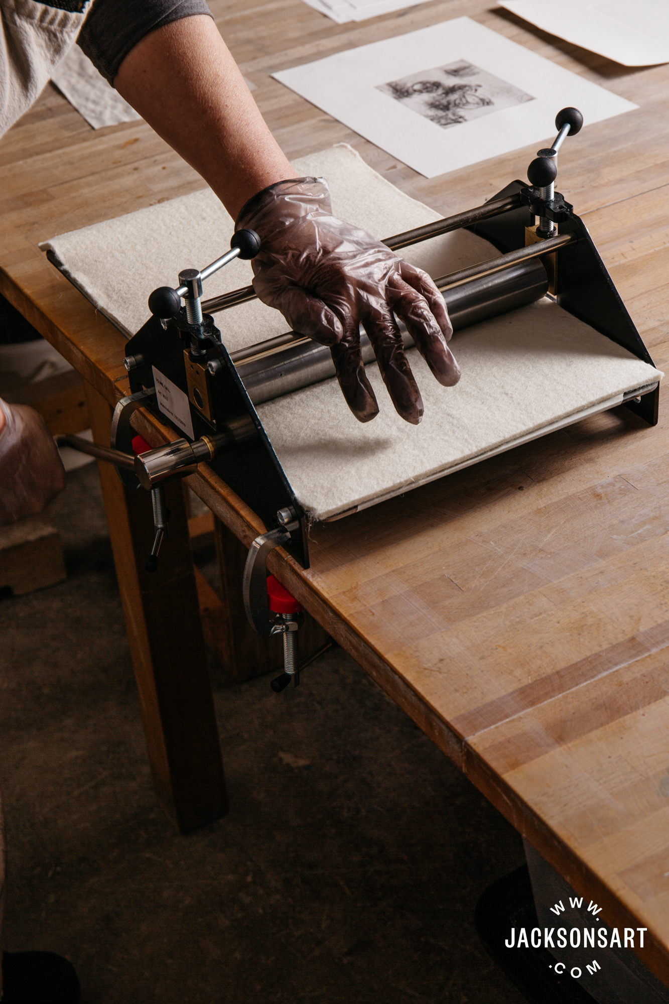 intaglio printing press