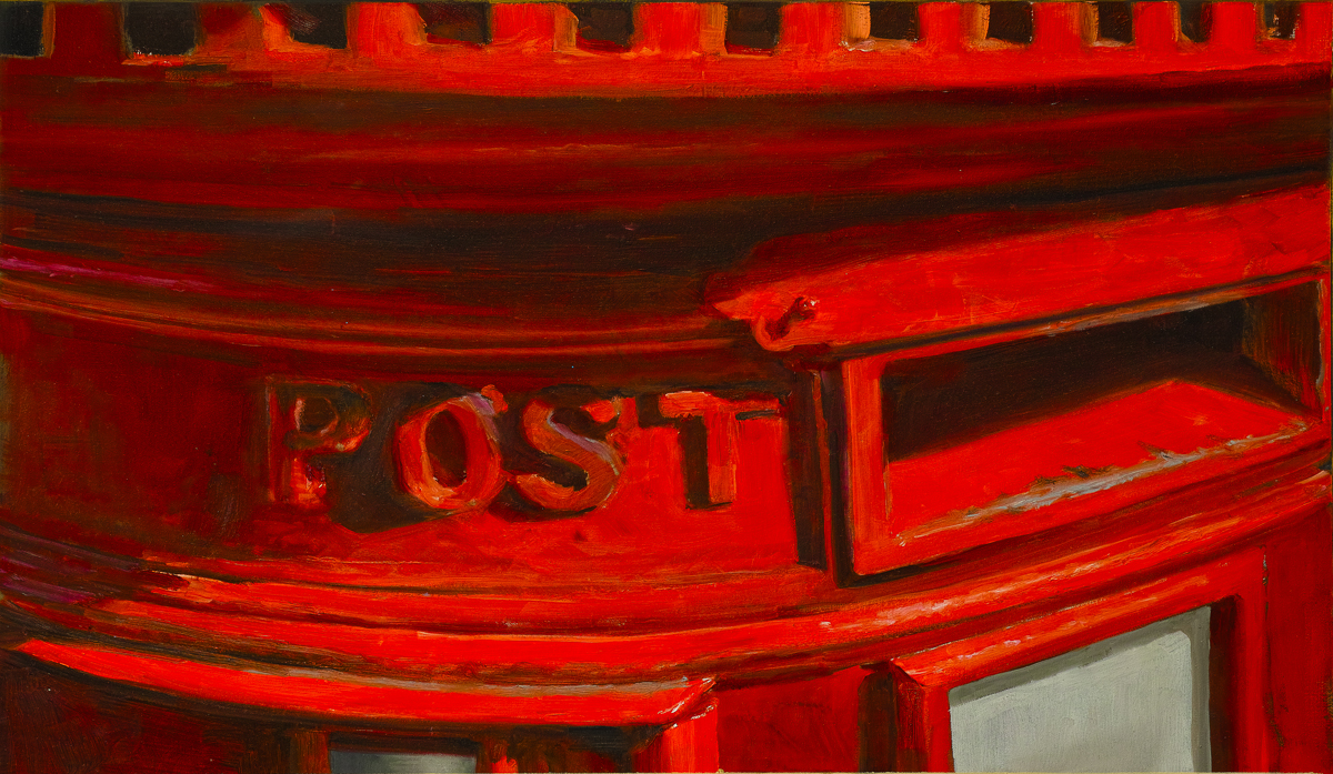 Post, Memories of Certainty. Tim Goffe. Jackson's Painting Prize.