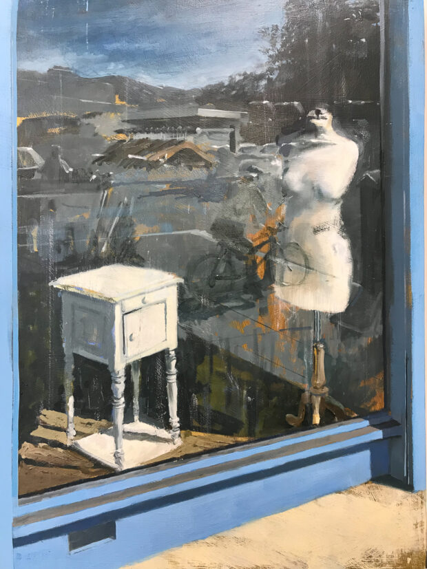 Empty Charity Shop. Tim Goffe. Jackson's Painting Prize.