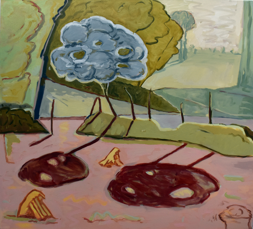 Little Tree and the Restored Elms. Angelina Davis. Jackson's Painting Prize.