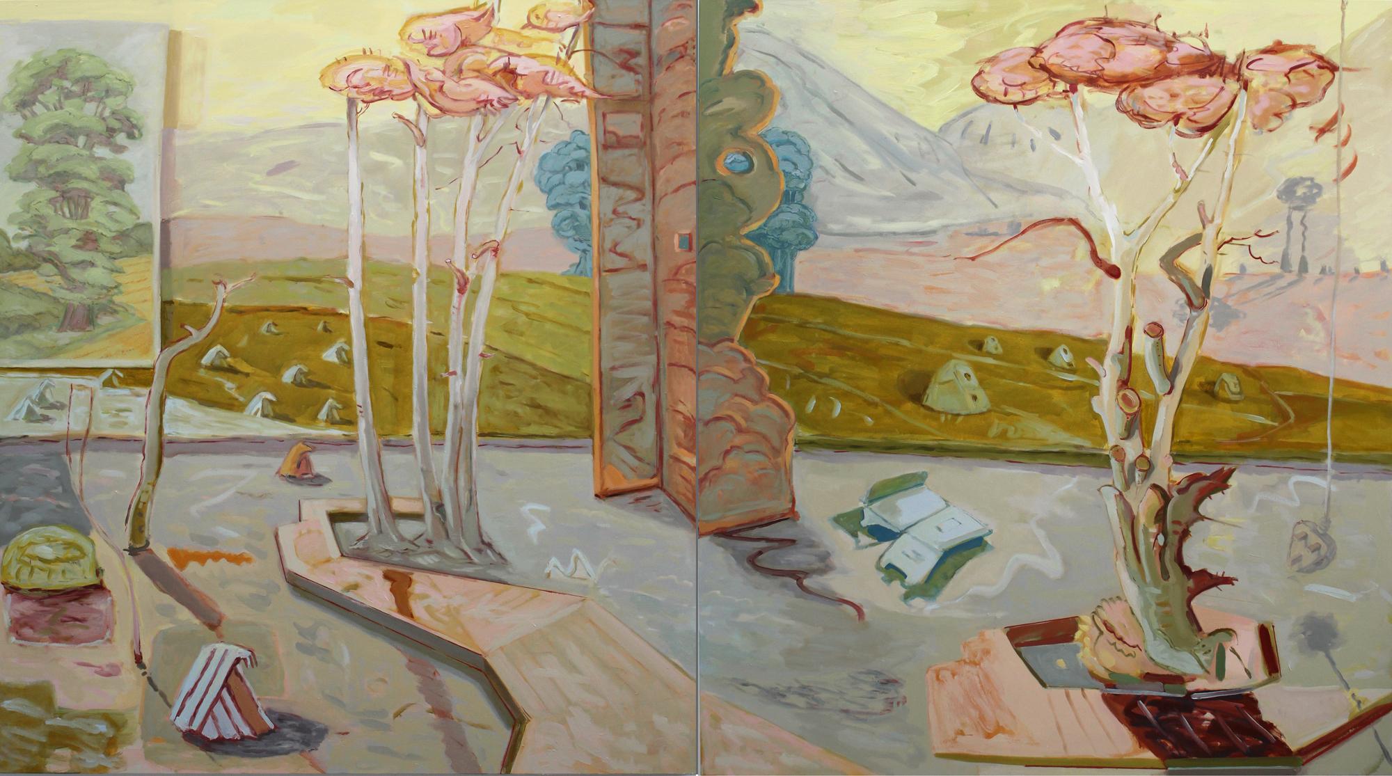 Blue Elms. Angelina Davis. Jackson's Painting Prize.