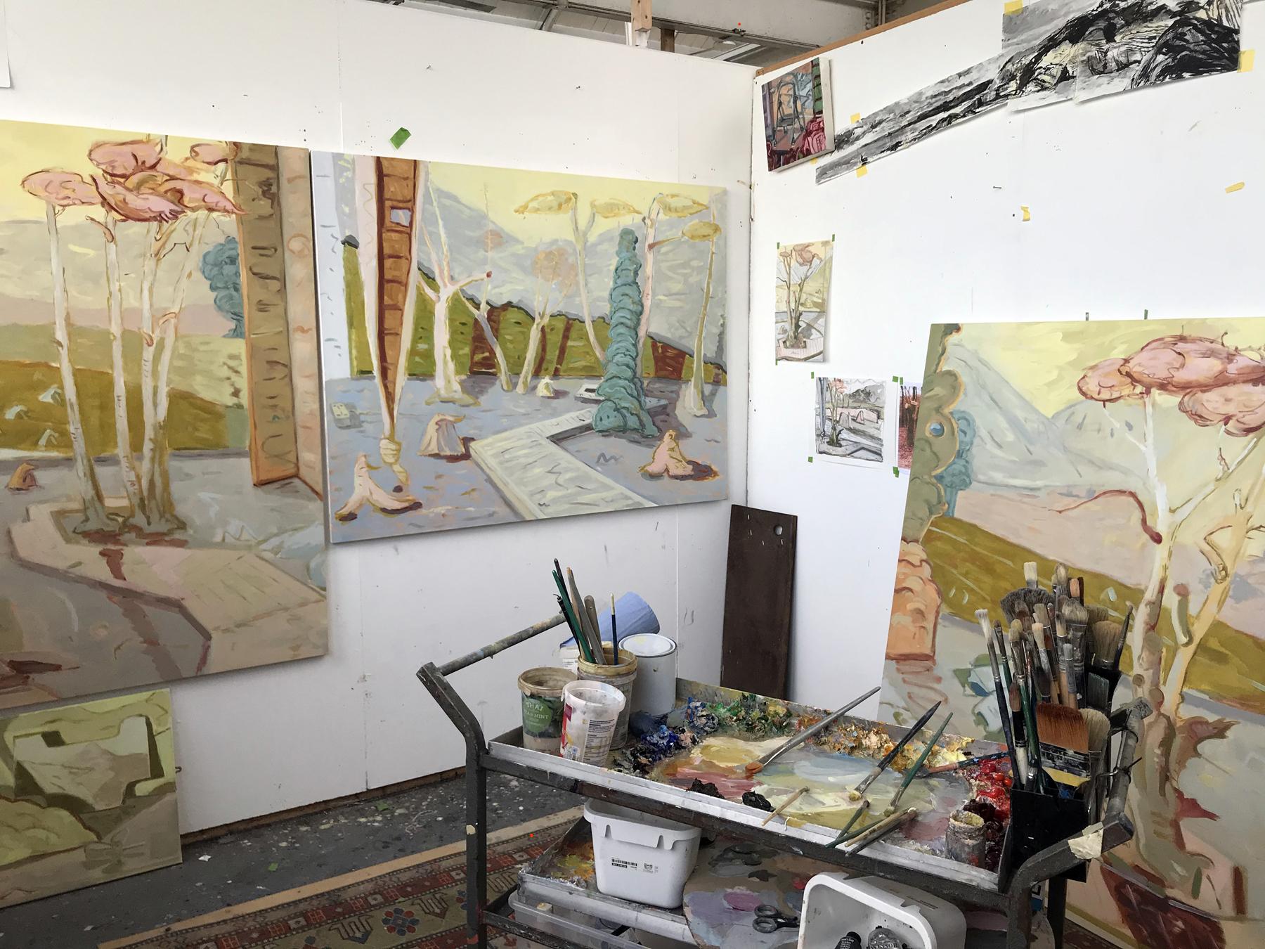 Angelina Davis. Jackson's Painting Prize.